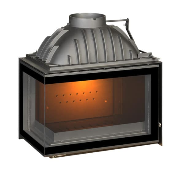 Corner Hearth 700 Left Glass 12 kW
