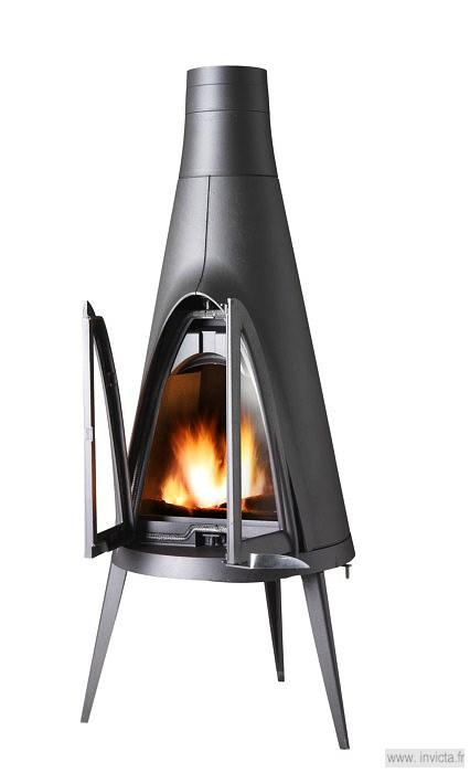 tipi cast iron stove invicta