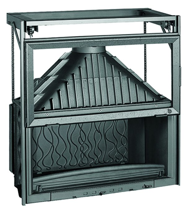 Fireplace 1100 Grande Vision Guillotine